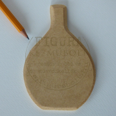 MDF üvegpalack forma 12,5*8,5cm