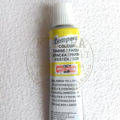 Tempera 16ml - citromsárga