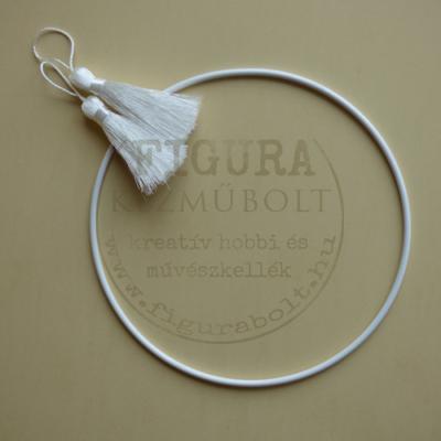 Fém karika (álomfogó, horgoló) 15cm