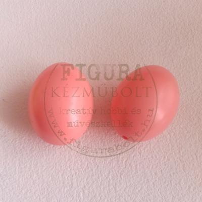 Műanyag tojás 6cm - RÓZSASZÍN